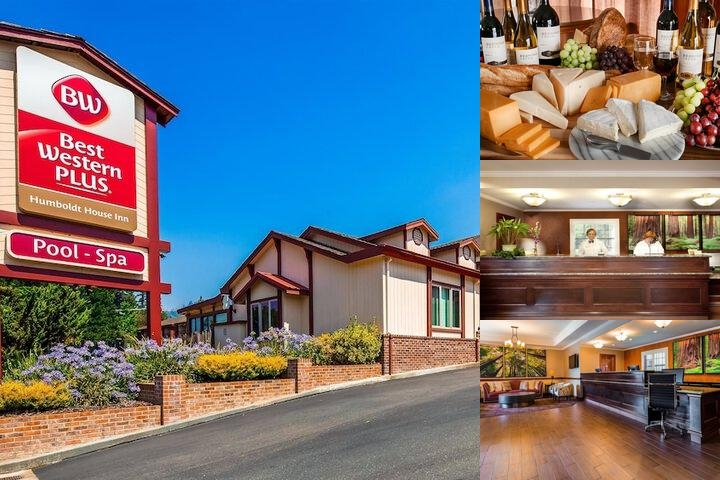Best Western Plus Humboldt House Inn photo collage
