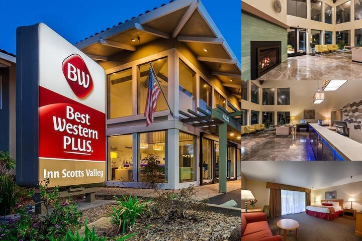 Best Western Plus Inn Scotts Valley photo collage