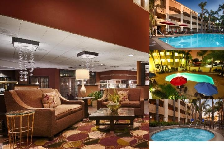 Hotel D'lins Ontario Airport photo collage