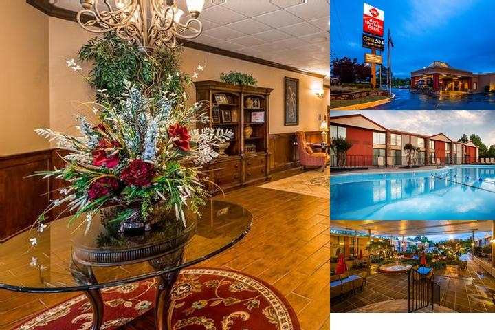 Best Western Plus Burlington photo collage