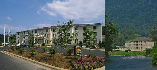 Best Western Plus River Escape Inn & Suites photo collage