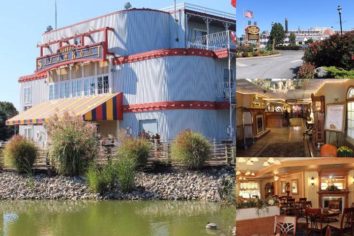 Fulton Steamboat Inn photo collage