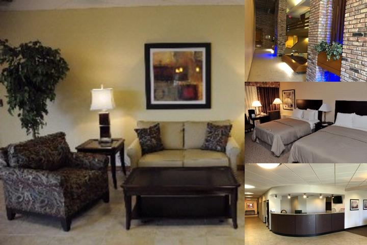 Clarion Inn Michigan City photo collage
