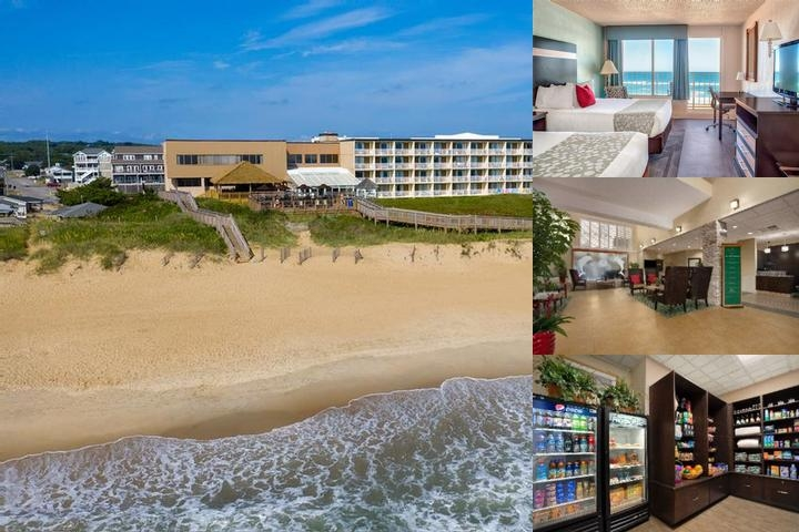 Ramada Plaza Nags Head Beach Photo Collage
