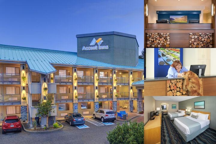 Accent Inns Kelowna photo collage