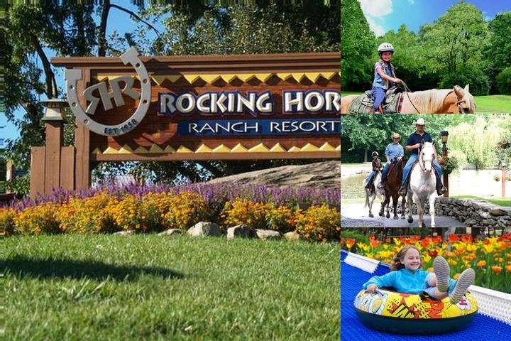 Rocking Horse Ranch Resort photo collage