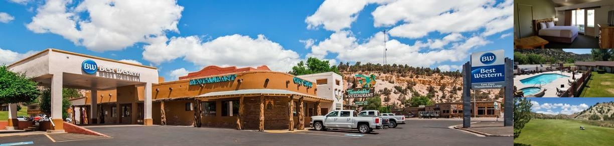 Best Western East Zion Thunderbird Lodge photo collage