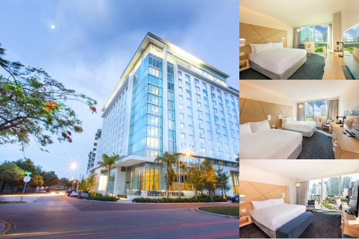 Atton Brickell Miami photo collage