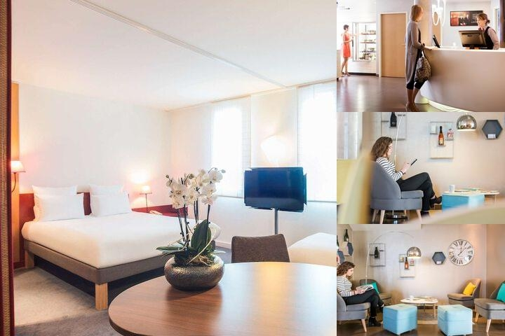 Novotel Suites Reims Centre photo collage