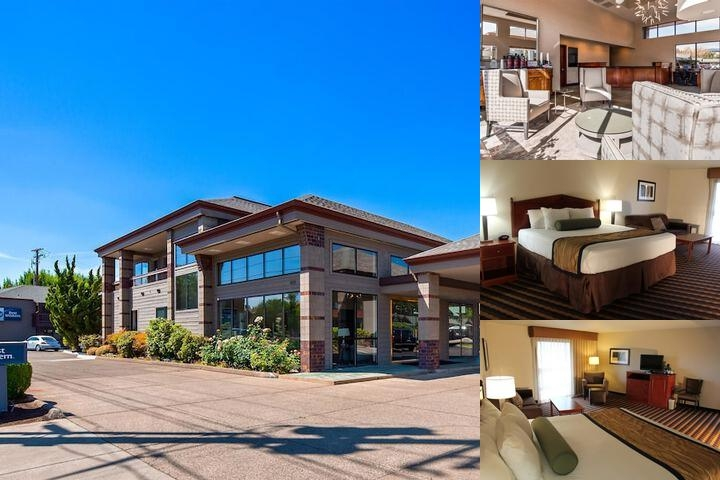 Best Western New Oregon photo collage