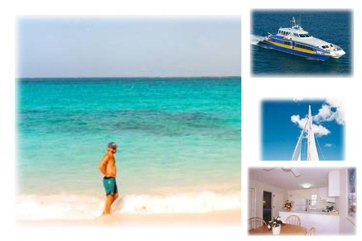 Paradise Harbour Club + Marina photo collage