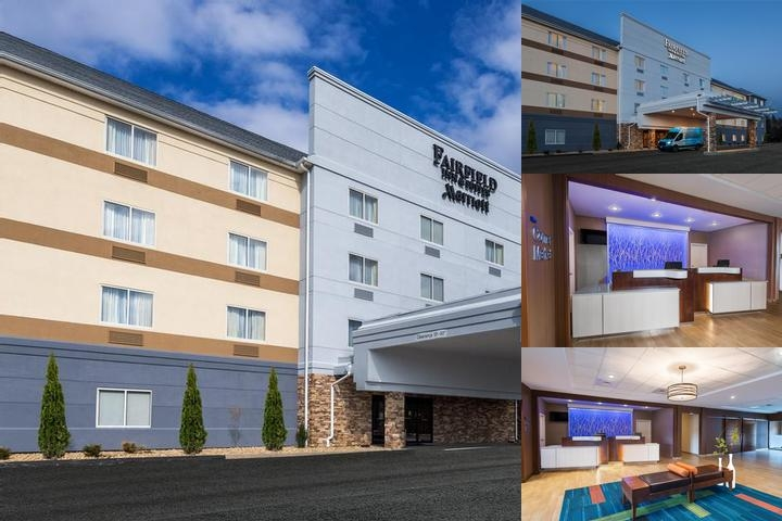 Fairfield Inn & Suites by Marriott Uncasville photo collage