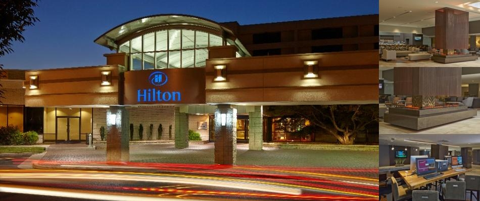 Hilton Raleigh North Hills photo collage