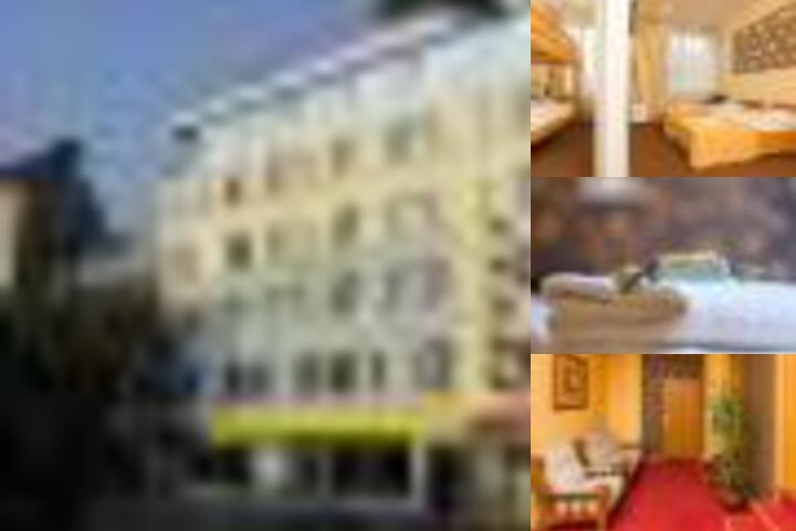 Baltpark Hotel photo collage