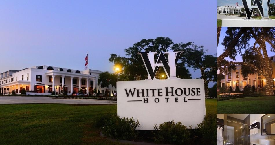 The White House Hotel Photo Collage