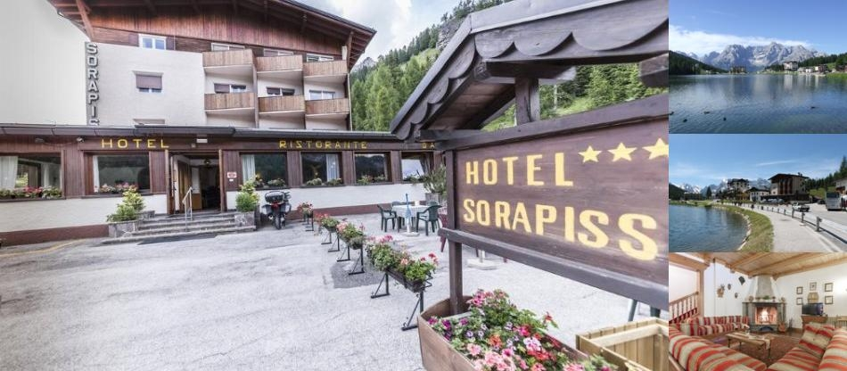 Hotel Sorapiss photo collage