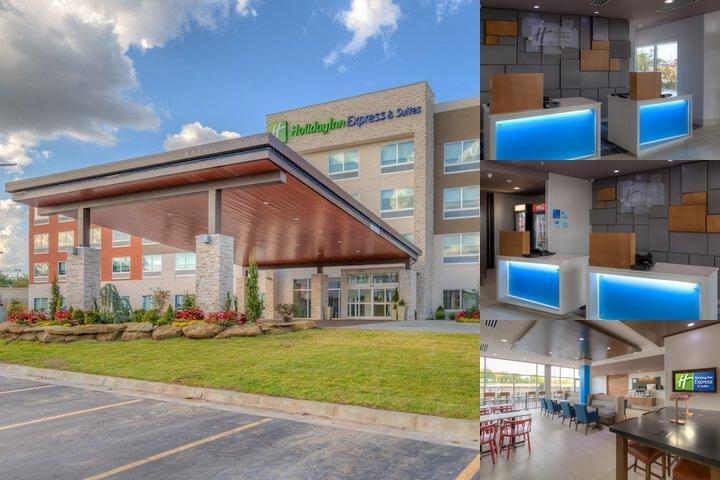 Holiday Inn Express & Suites Tulsa Midtown photo collage