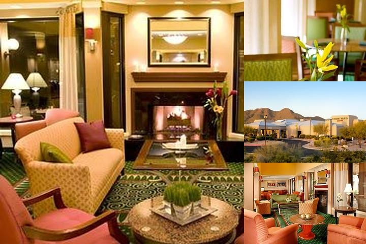 Scottsdale Courtyard by Marriott at Mayo Clinic photo collage