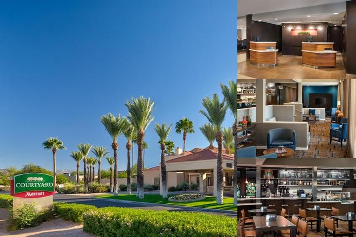 Tucson Airport Courtyard by Marriott photo collage