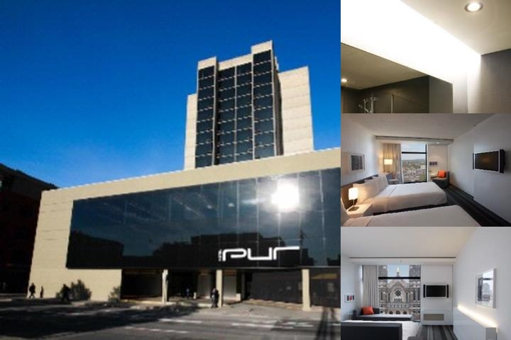 Tryp Quebec Hotel Pur photo collage