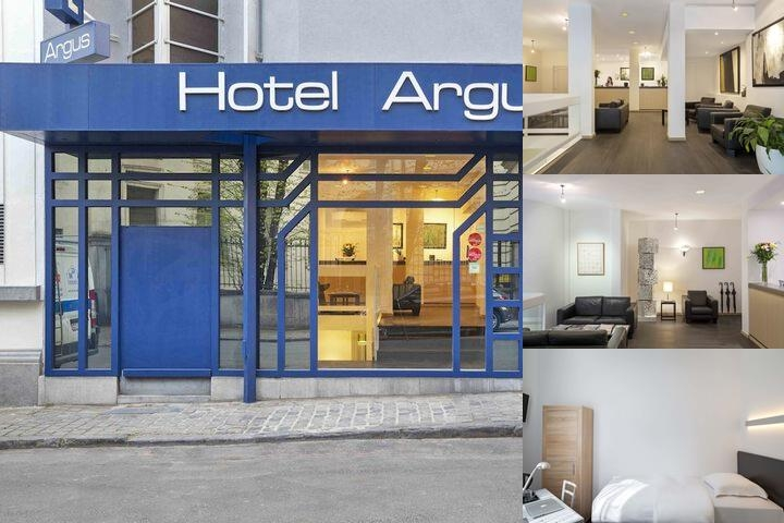 Hotel Argus photo collage