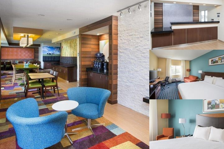Quincy Fairfield Inn photo collage