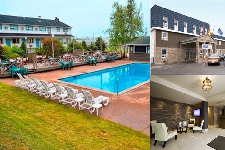 Howard Johnson Plaza Hotel Fredericton photo collage