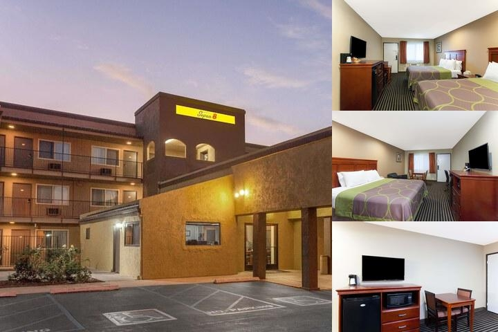 Super 8 Escondido photo collage