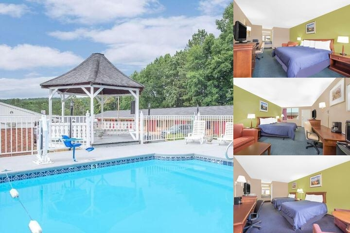 Knights Inn & Suites Anniston Oxford Area photo collage