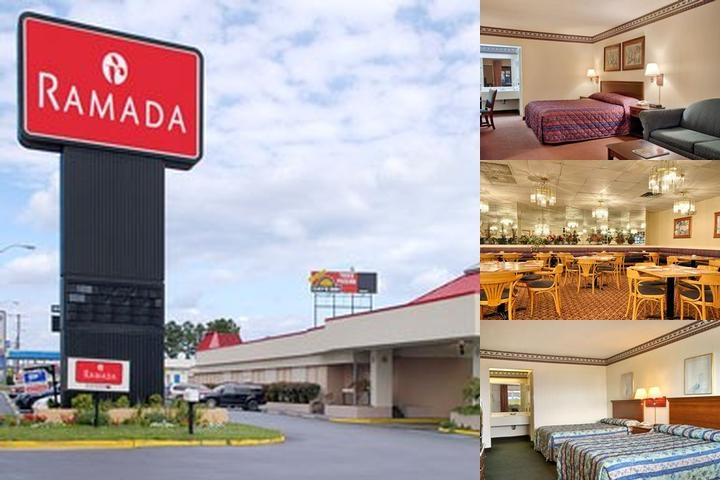 Ramada South Fredericksburg photo collage