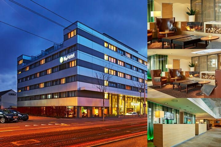 H+ Hotel Zürich photo collage