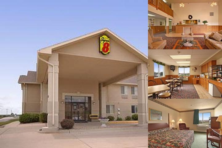 Super 8 Creston photo collage