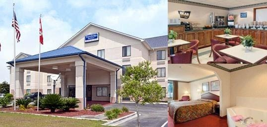 Travelodge Suites Savannah Pooler photo collage