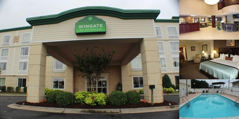 Wingate by Wyndham Southport photo collage