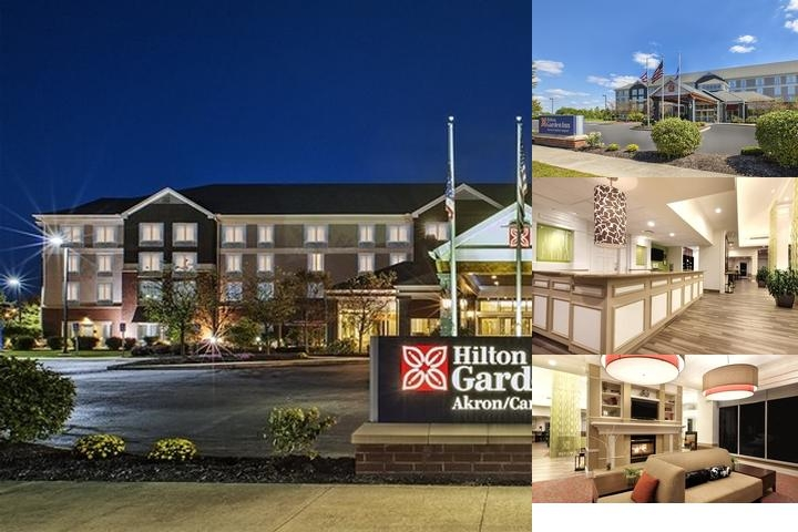 Hilton Garden Inn Akron Canton Airport photo collage