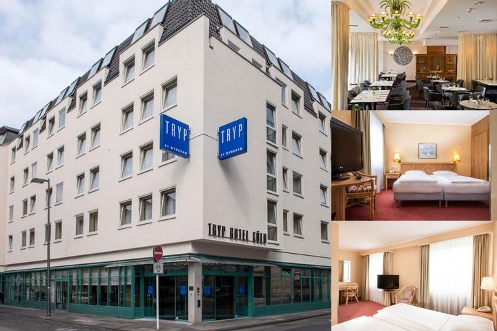 Tryp by Wyndham Köln City Centre photo collage