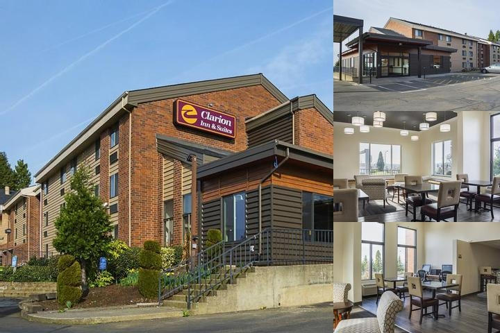 Days Inn Clackamas Portland photo collage