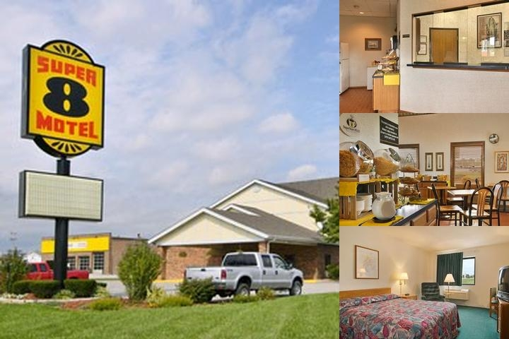 Super 8 Alton photo collage