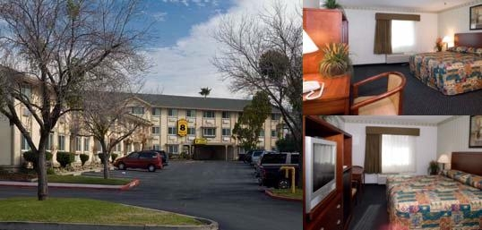 Super 8 Sacramento photo collage
