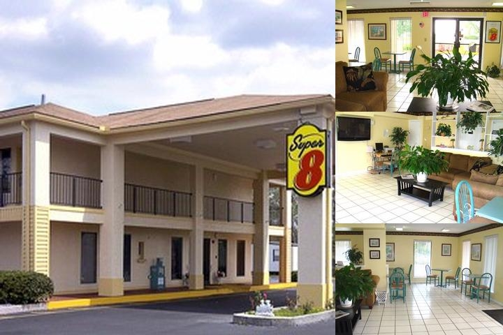 Super 8 Defuniak Springs photo collage