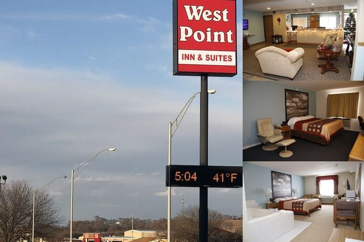 Super 8 West Point photo collage