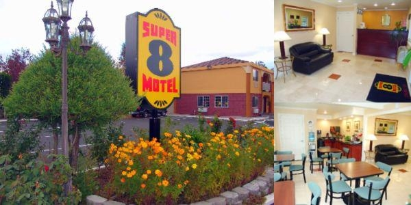 Super 8 Ukiah photo collage