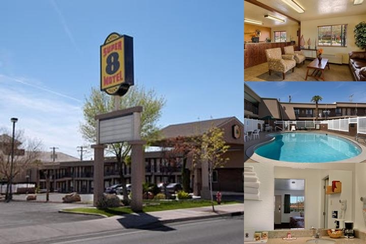 Super 8 St. George Ut photo collage