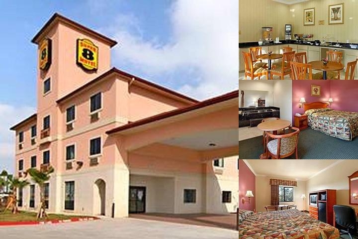 Super 8 Brookshire Tx photo collage
