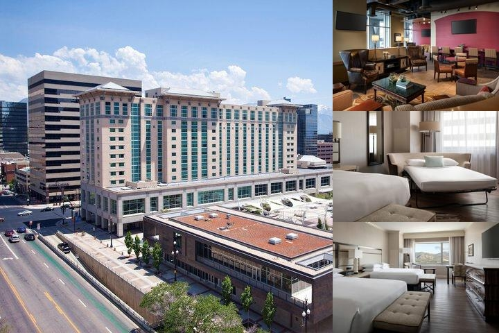 Salt Lake Marriott City Center photo collage