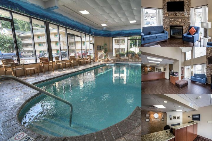 Comfort Inn & Suites at Dollywood Lane photo collage