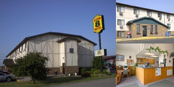 Super 8 Clinton photo collage