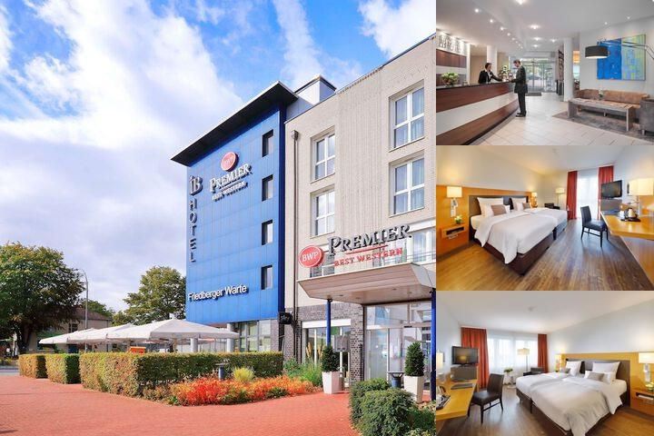 BW Premier Ib Hotel Friedberger Warte photo collage