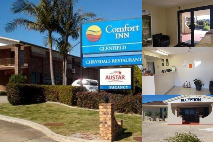 Comfort Inn Glenfield photo collage