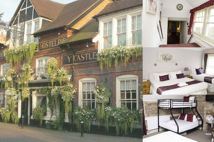 The Castle Inn Hotel photo collage